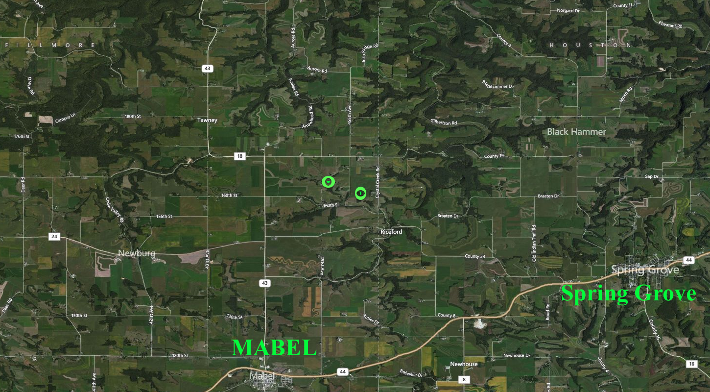 39+/- Acres Fillmore County, MN