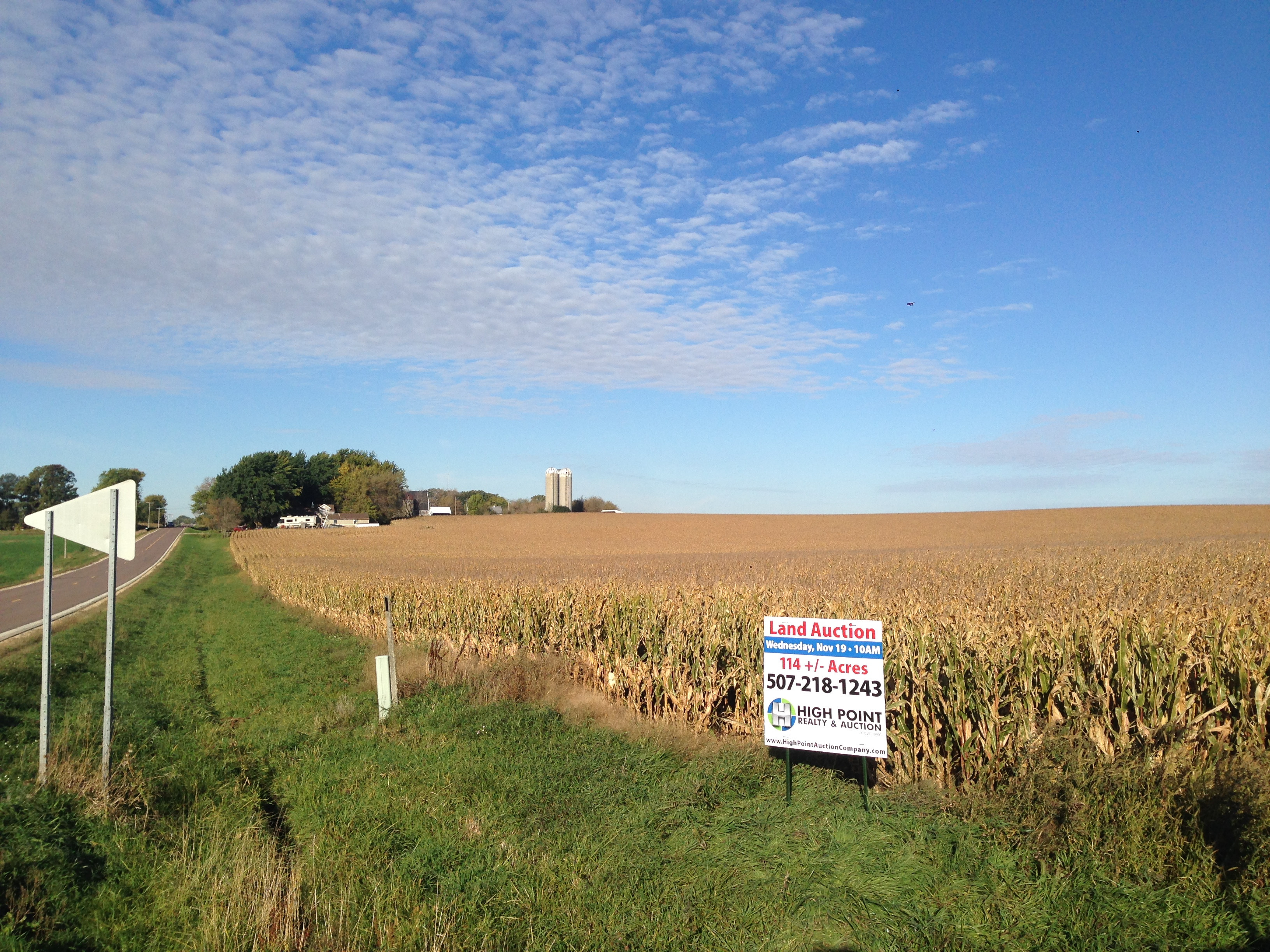 114.22 +/- Acres Highly Productive, Patterned Tile, & Blacktop Access (SOLD)