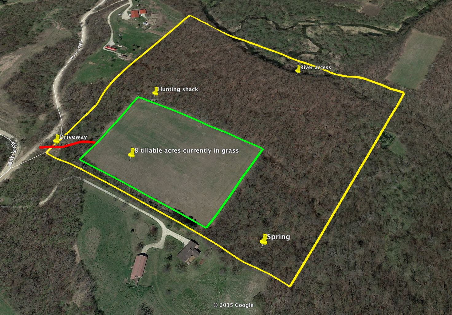40+/- Acres SW Rochester/Byron, MN