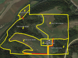 250 +/- Acre Land Auction Allamakee County, IA