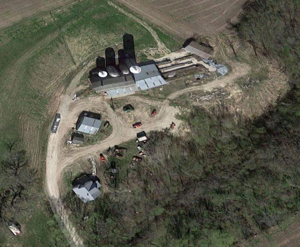 Aerial house