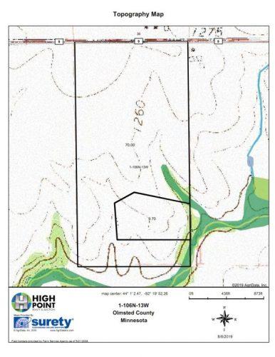 Topo Map 70 Acres