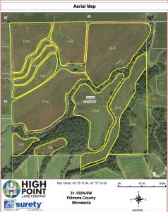 Coyle Aerial Map